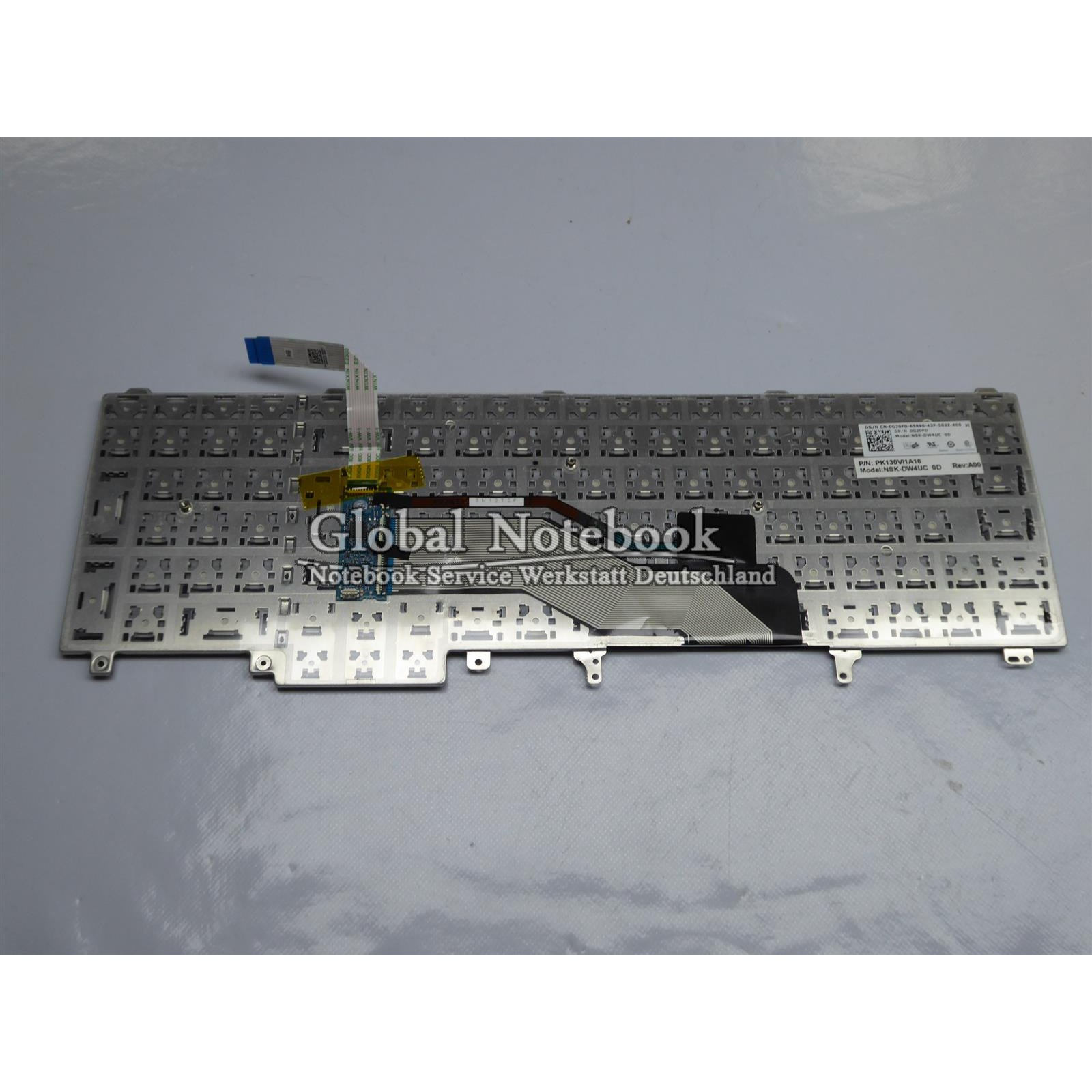 0G20FD 3802 Dell Latitude e6540 ORIGINAL Keyboard Dansk Layout 0G20FD 3802