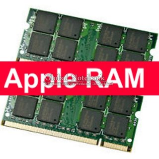 4GB RAM Apple Macbook A1226 Serie Speicher Kit OF 2 x 2GB DDR2  #3001_09
